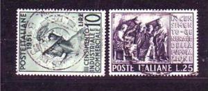 Italien Nr. 848-9   o  ( o6228 ) siehe scan !