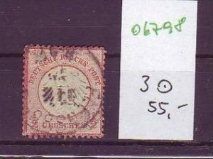 D.-Reich Nr. 3   o  (o6798  ) siehe scan