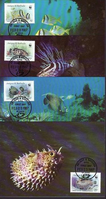 WWF-MC   Antigua     (dc 8168)  siehe scan