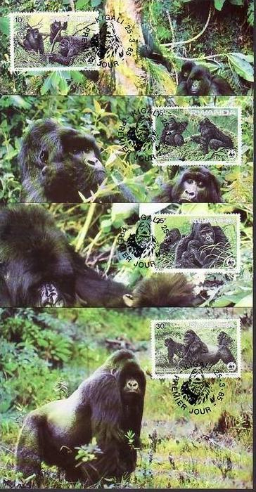 WWF-MC  Rwanda     (dc 8169)  siehe scan