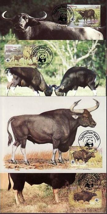 WWF -MC    Kambodscha  ( dc8170  )  siehe scan