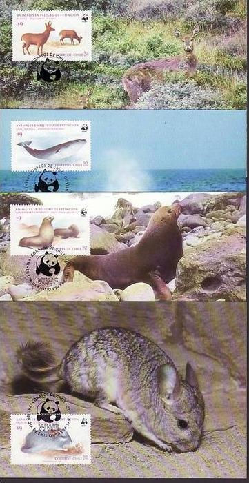 WWF -MC  Chile    ( dc8175  )  siehe scan