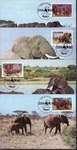 WWF -MC  Uganda  ( dc8176  )  siehe scan