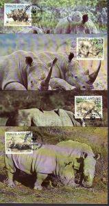 WWF -MC  Swaziland   ( dc8178  )  siehe scan