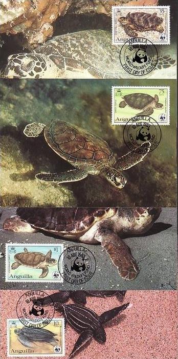 WWF -MC  Anguilla  ( dc8183  )  siehe scan
