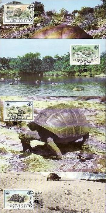WWF -MC  Seychellen  ( dc8184  )  siehe scan