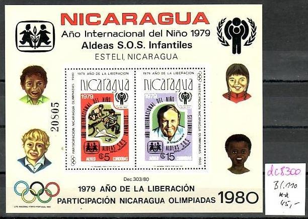 Nicaragua Block  110  **   ( dc 8300 ) siehe scan