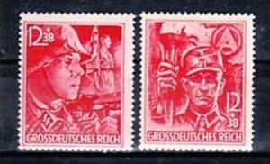 D.-Reich  Nr. 909-10   ** ( o7508 ) siehe scan !!
