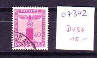 D.-ReichNr. D154    o ( o7342 ) siehe scan !