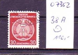 DDR Dienst   Nr.  38  A   o (o7352 ) siehe scan