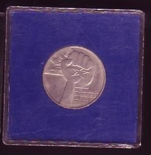 DDR Münze 5 Mark Apartheid 1978  bankfrisch  (x424 ) siehe scan