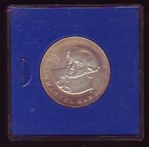 DDR Münze  20 Mark  Immanuel Kant 1974 -Silber  bankfrisch  (x411 ) siehe scan