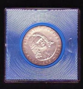 DDR Münze  20 Mark  Friedrich Händel  1984 -Silber  bankfrisch  (x420 ) siehe scan