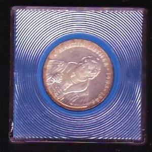 DDR Münze  20 Mark  Martin Luther 1983  -Silber  bankfrisch  (x418 ) siehe scan