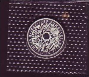 BRD 10,- DM   40 Jahre BRD  1989 G -  PP /Silber ! (x405 ) siehe scan