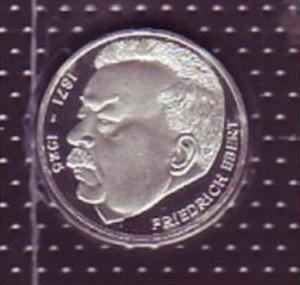 Brd 5 Dm Febert 1975 Pp X391 Siehe Scan Nr 149332364