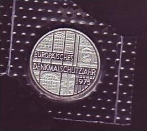 BRD  5,- DM  Europäisches Jahr 1975 / PP (x381  ) siehe scan