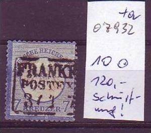D-Reich   Nr.  10  o  (o7932   ) siehe scan