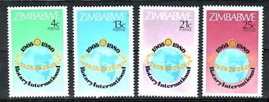 Zimbabwe  Nr.  242-3    **  (d8622 ) siehe scan !