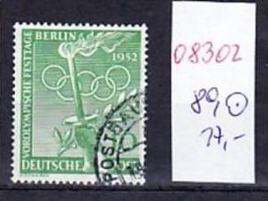 Berlin  Nr. 89   o-used ( o8302 ) siehe scan