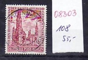 Berlin  Nr. 108     o-used ( o8303 ) siehe scan
