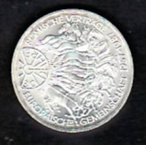 BRD 10 D.-Mark -Silber  /1987 G  / Römische Verträge (x432 ) siehe scan !