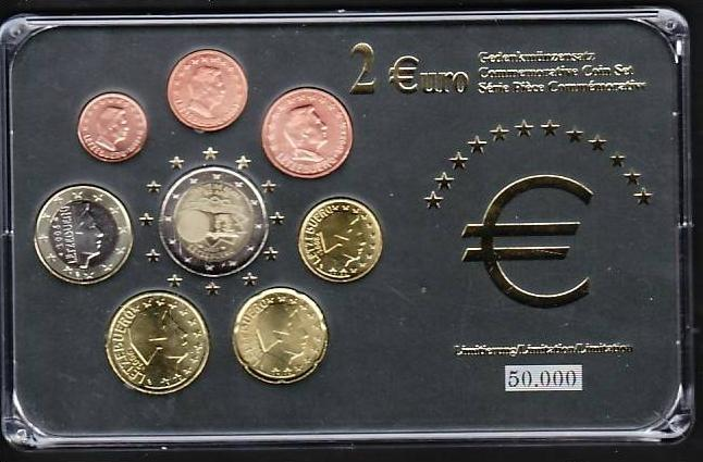 (x473) Euro Sondersatz limitiert -Luxemburg 2007  in Plastikbox
