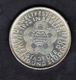Ddr Münze 10 Mark Weltfestspiele 1973 X496 Siehe Scan Nr