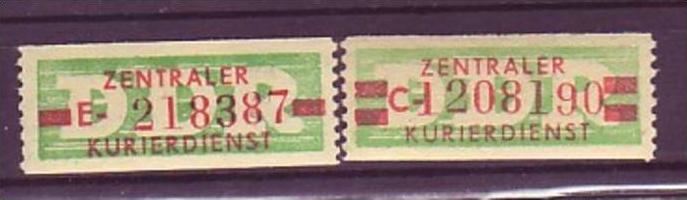DDR  ZKD  Nr.  30-1    **/MNH ( o8715 ) siehe scan