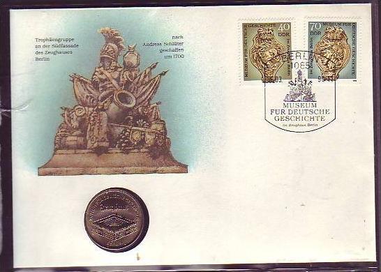 offizieller Numisbrief-DDR   Museum  Berlin   (dc8877) siehe scan