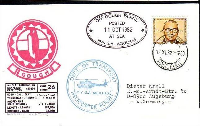 Polarpost -Sammler -Beleg  (ba 2458  ) siehe Bild  ! 0