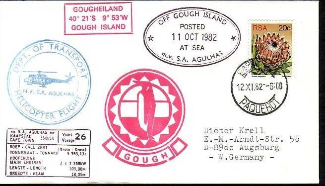 Polarpost -Sammler -Beleg  (ba 2457  ) siehe Bild  ! 0