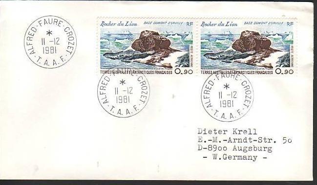 Polarpost -Sammler -Beleg  (ba 2416) siehe Bild  !