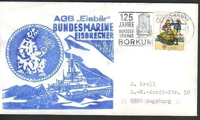 Polarpost -Sammler -Beleg  (ba 2423 ) siehe Bild  !