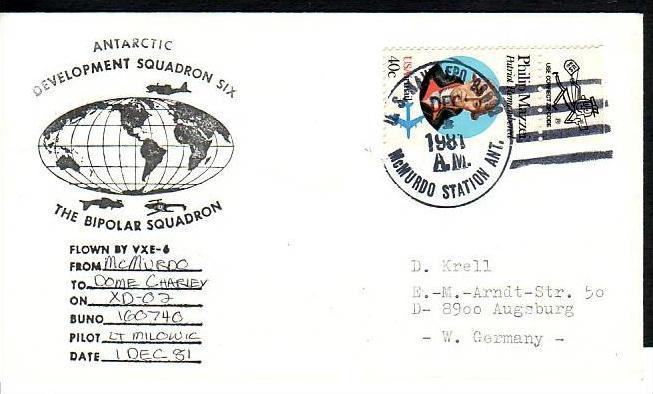 Polarpost -Sammler -Beleg  (ba 2433 ) siehe Bild  !
