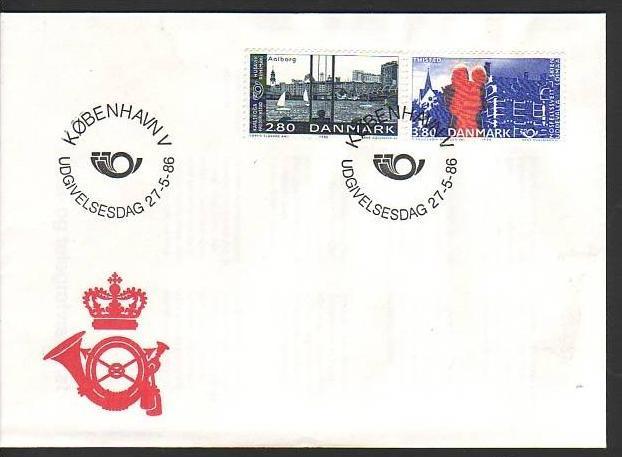 Dänemark  FDC  868-69    (dc8931  ) siehe scan !