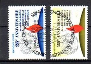 UNO GENF   Nr.  35-6   o     (u3250 ) siehe scan