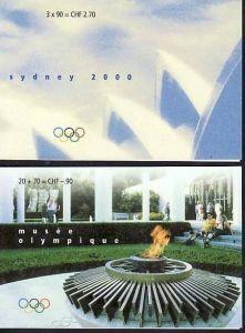 Schweiz  Heft  Olympia   **  (ba2730   ) siehe scan