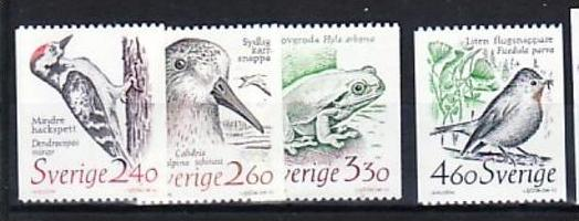 Schweden Nr.  1522-5   **  ( d9229 ) siehe scan