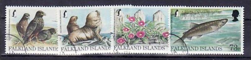 Falkland Nr. 701-4      o  (d9439  ) siehe scan