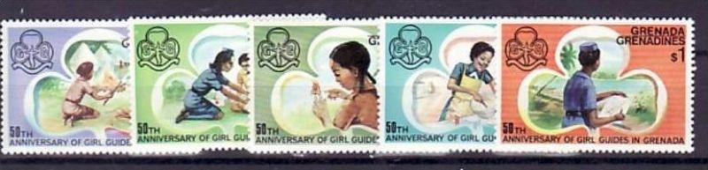 Grenada  Nr.  165-9    ** (d 9582  ) siehe scan !
