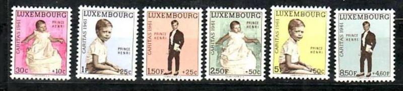 Luxemburg  Nr. 549-54  **  (d9674 )siehe scan !