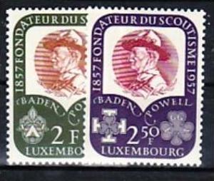 Luxemburg  Nr. 567-8        **  (d9680 )siehe scan !