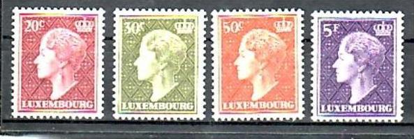 Luxemburg  Nr. 566-9       **  (d9681 )siehe scan !