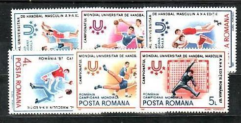 Rumänien  Nr. 4341-6     **  (d9648 )siehe scan !