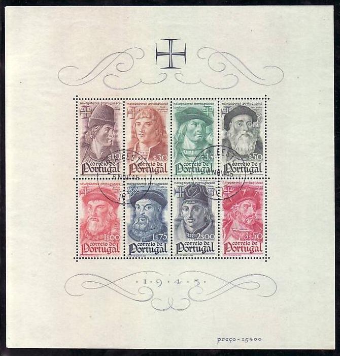 Portugal  Block  7   o -top    (bg1384 ) siehe scan