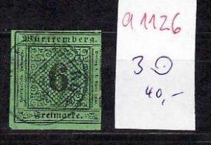 Würtemberg Nr. 3   o  (a1126 ) siehe scan