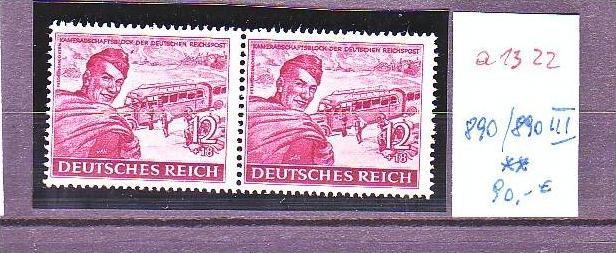 D.-Reich Nr. 890/ 890  III    **  (a1322 ) siehe scan