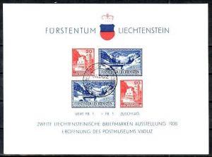 Liechtenstein   Block 2   o    (dc 9754 ) siehe scan