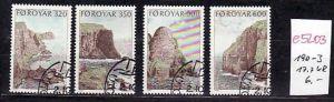 Farör Inseln  Nr. 190-3   o-Versandstellen Stempel  (e5203  ) siehe scan